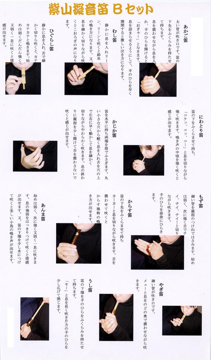 方 の 鳴らし 指 笛