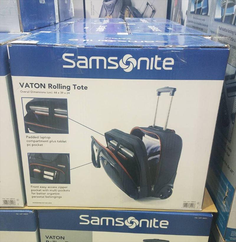 SAMSONITE VATON ROLLING TOTE サムソナイト ビジネスバッグ ローリングトート 2輪 サムソナイト ビジネスバッグ モバイルオフィス ビジネス スーツケース PCバッグ パソコンバッグ 出張 旅行