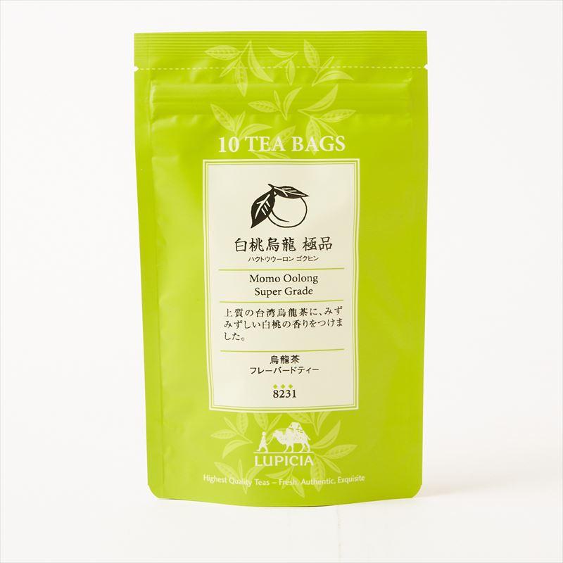 ルピシア お茶 紅茶 ティー フレーバー お試しサイズ 白桃烏龍 購入 極品 ティーバッグ ゴクヒン フレーバードティー ゆうパケット 送料無料 10個入 台湾茶 ハクトウウーロン LUPICIA 緑茶 国産品