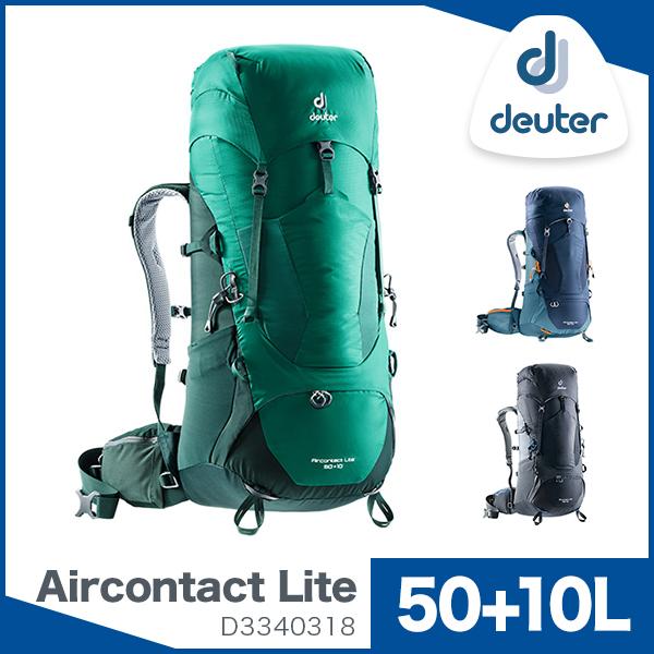 バックパック ドイター / deuter エアコンタクト ライト 50+10 D3340318 【送料無料】