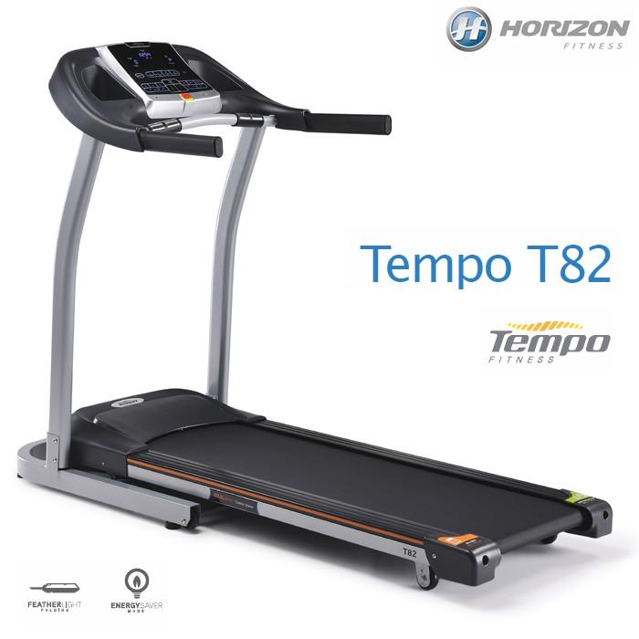 HORIZONトレッドミル Tempo T82(テンポティーエイティツー) ランニングマシン ジョンソンヘルステック 純正マット付【送料無料】2018NEWモデル
