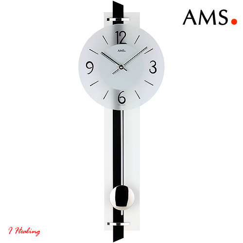 ドイツAMS7318振り子時計 AMSアムス社ドイツ製【送料無料】