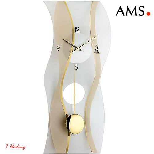 ドイツAMS7347振り子時計 AMSアムス社ドイツ製【送料無料】