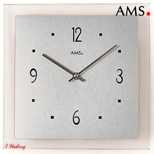 ドイツAMS9043掛け時計 AMSアムス社ドイツ製【送料無料】