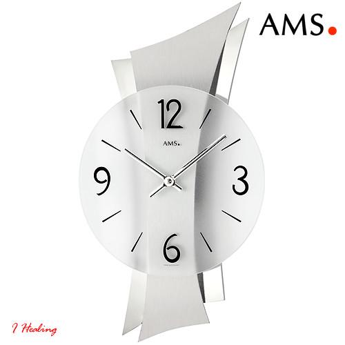 ドイツAMS9398掛け時計 AMSアムス社ドイツ製, 下町バームクーヘン dce08753