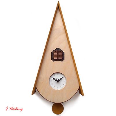 クラシック カッコウ ナチュラルPirondini鳩時計 ART115N