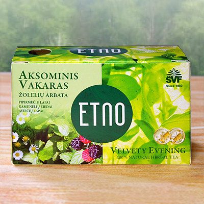 ETNO Lithuania natural herbal tea velvet night 1 22 Pack