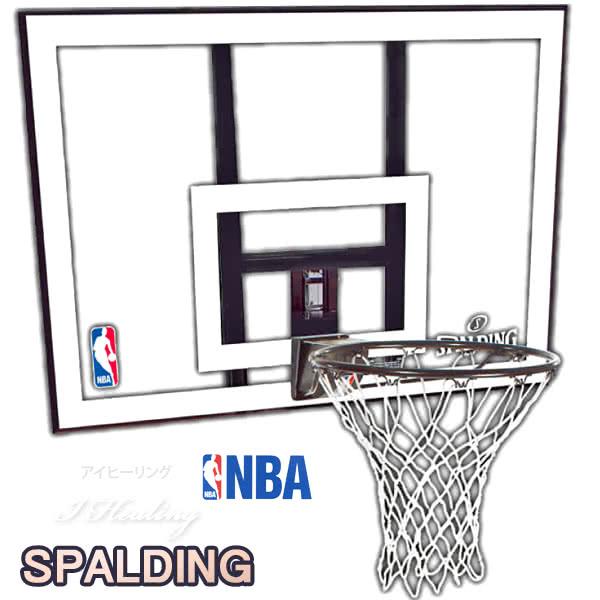 バスケットゴール バックボードSPALDING 単品 屋外用 NBAコンボ スポルディング79484CN