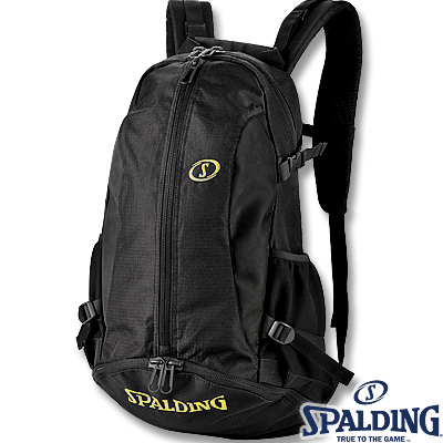 SPALDINGケイジャー ゴールド バスケットボールバッグ バスケ収納カバン リュック スポルディング40-007GD