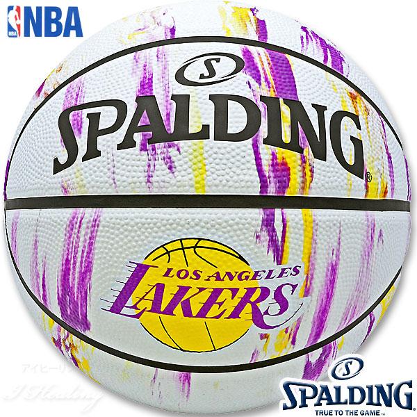 楽天市場】SPALDING ミニバス バスケットボール5号 NBA
