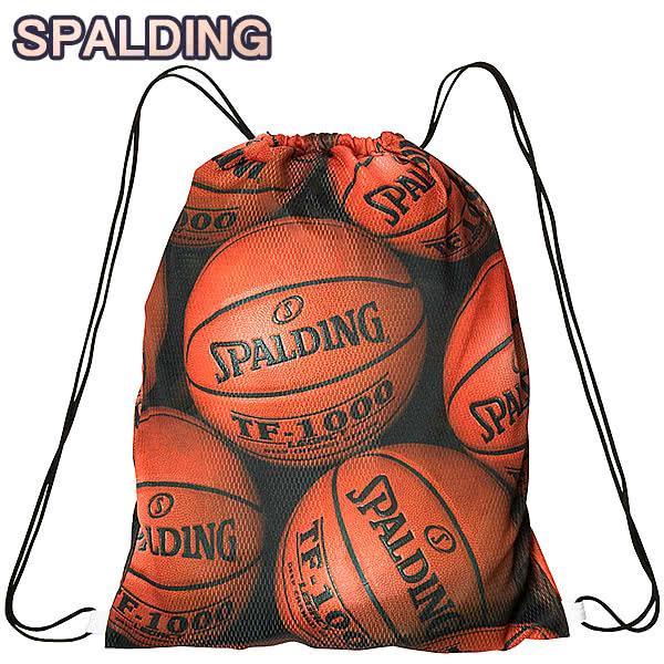 ナップサック ブラウンボール KNAPSACK ブラウン 荷物収納 スポルディング リュック バスケリュック SPALDING BROWN 特価 バスケ 33L SAK002BRB バッグ BALL ジムサック スポーツ 価格 交渉 送料無料