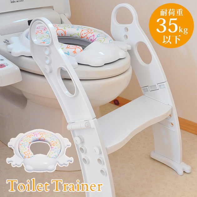 Magnificent Sectional With A Japanese Manual Step Type Supporting Toilet Seat Frog Type White Pm2697Np White Restroom Trainer Restroom Training Step Folding Creativecarmelina Interior Chair Design Creativecarmelinacom