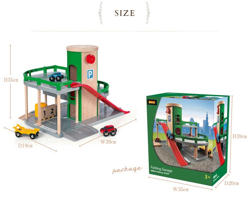Garage Brio i love baby: brio parking garage 33204 brio railway toy wood toy