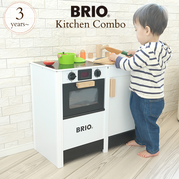 / toy wooden toy Wood toy cognitive education toy playing house play  びおままごとごっこ play kitchen BRIO ブリオキッチンストーブ & sink 31360 BRIO kitchen toy wood  toy to ...