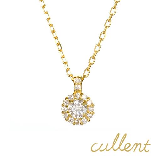 【他商品との同梱不可】 【クーポンで200円OFF】 カレン K18 ダイヤモンドネックレス cheer K18 diamond necklace cheer 18金 18k 1粒 一粒 ペンダント 【送料無料】