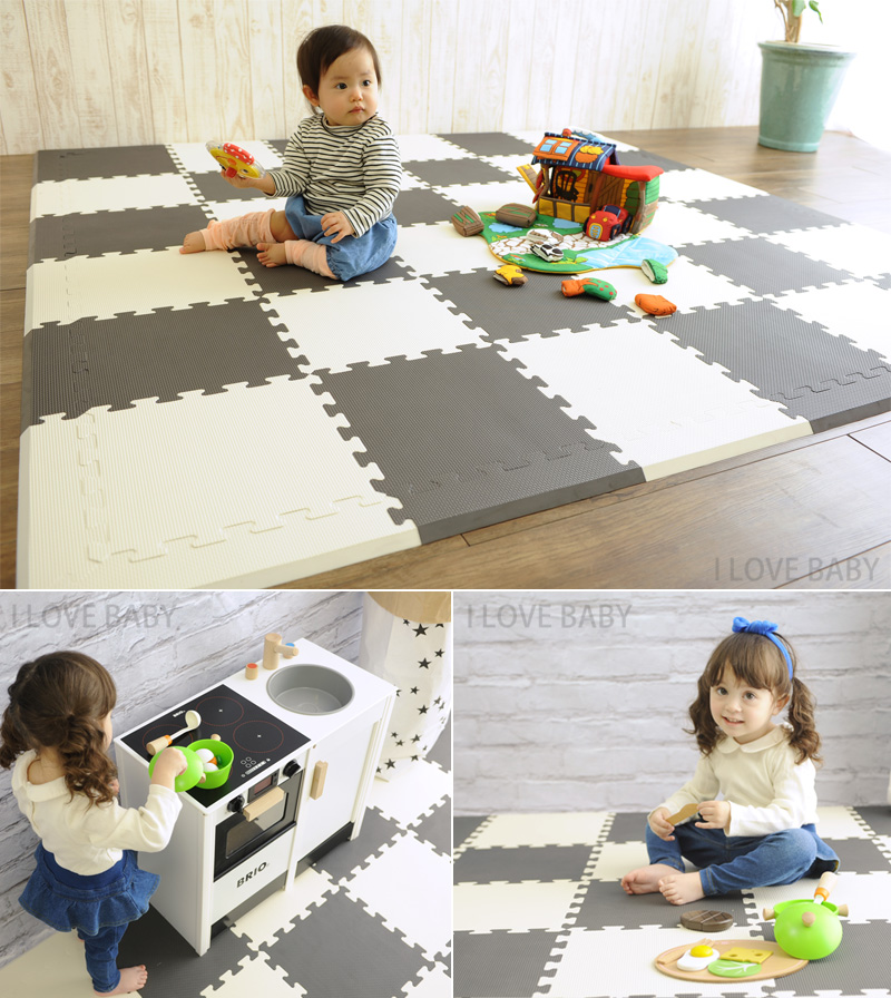 gym foam baby exercise tiles play mats floor garage eva interlocking mat b itm