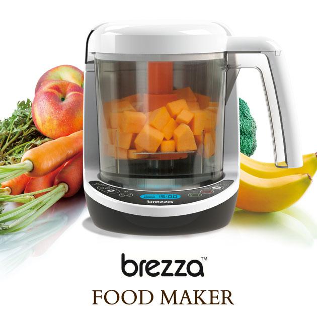 【クーポンで200円OFF】 Brezza ブレッツァ フードメーカー 16838302 フードメーカー フードプロセッサー 離乳食 スープ スムージー 蒸す きざむ つぶす プロセッサー
