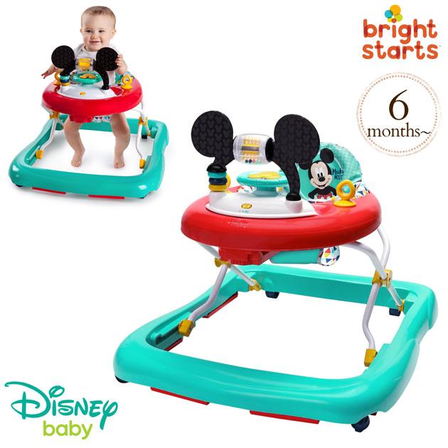 Disney baby ディズニーベビー ミッキーマウス・ハッピートライアングル・ウォーカー 11237 ウォーカー 歩行器 知育 おもちゃ ベビー 赤ちゃん ディズニー ギフト プレゼント 【送料無料】
