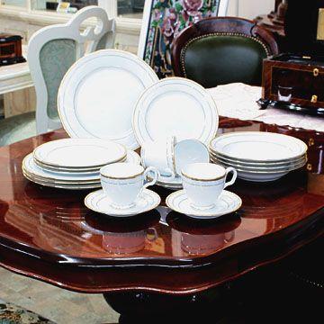 食器 ノリタケノリタケ 食器 ハンプシャーゴールド20pcディナーセット(海外用), Puravida プラヴィダ メンズ館:4c23b768 --- officewill.xsrv.jp