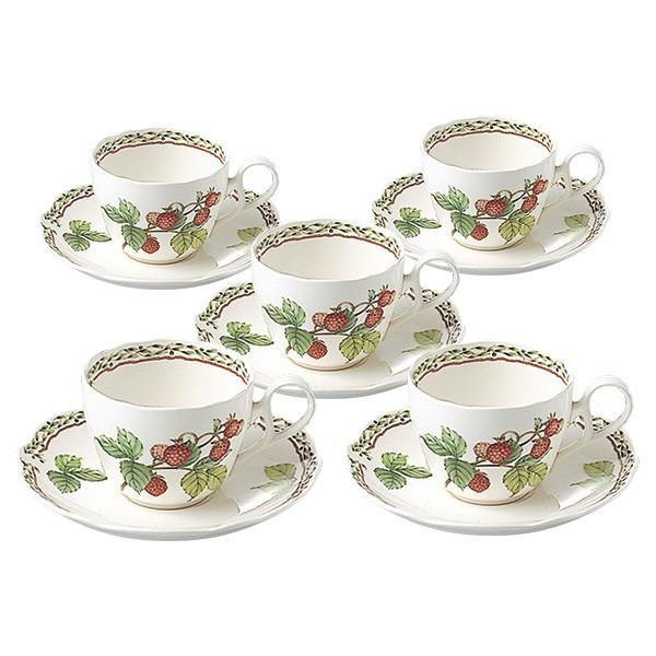 ノリタケ 食器 オーチャードガーデン ティー・コーヒー碗皿5客セット