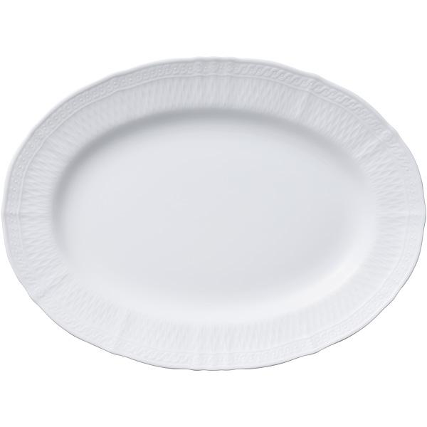 ノリタケ食器 blanc】シェール【cher【cher blanc】シェール ブラン ノリタケ食器 36cmオーバルプラター, エルグスト:fc4ddcff --- officewill.xsrv.jp