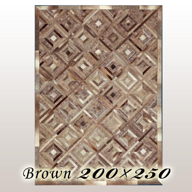 ラグ カーペット ウルポ Urpo インド ブラウン 200×250cm