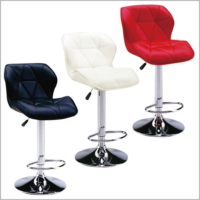 カウンターチェア バーチェア カウンターチェアー 椅子 背もたれあり 背もたれ付き スタイリッシュ ハイチェアー おしゃれ 昇降チェアー ハイスツール PU素材 合成皮革 昇降式 高さ調整可能 スツール バーチェア バーチェアー