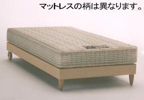 フランスベッド(2年保証) ピスコ木製キャスター付きシンプルベッド シングルフランスベッド [fbp06]