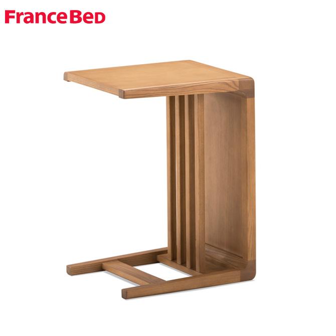 フランスベッド サイドテーブル ナイトテーブル コーヒーテーブル 北欧スタイル リビング Deux Ligne 北欧 デザイン コンソール テーブル DU-08 ドゥ・リーン