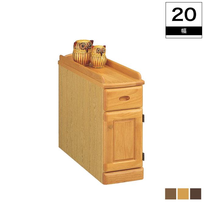 ナイトテーブル 木製 北欧 ベッド スリムナイトテーブル幅20cm(扉) 天板のサイドを高くしたズレ落ち防止機能付き 薄型設計のスリムナイトテーブル 引出し・扉タイプ シンプル 木製 サイドテーブル ベッドサイドテーブル ベッドテーブル おしゃれ 日本製