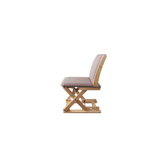 座椅子 高さが変わる座椅子 高さ53~83cm 3段階調節 日本製