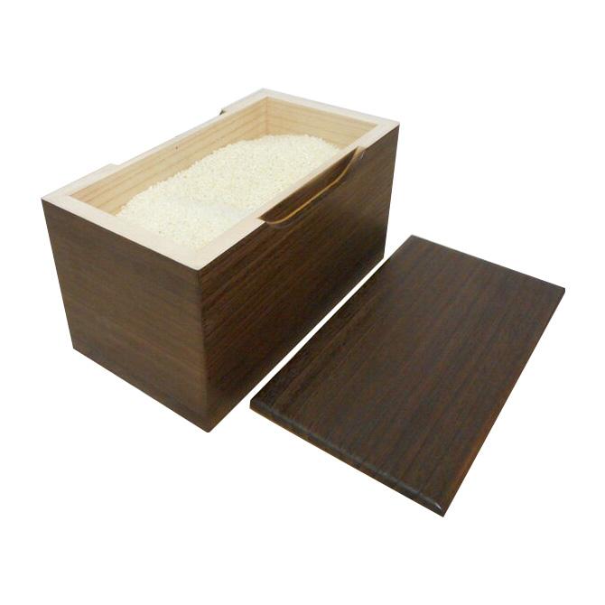 米びつ 桐 米びつ 5kg 焼桐 国産 日本製 米びつ 桐 5kg 米びつ 米櫃 こめびつ 桐 桐製 米びつ 木製 [送料無料]