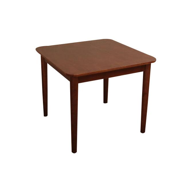 木製ダイニングテーブル サイズ:幅75×奥行き75×高さ64cm [送料無料] カントリー調の温かみのあるテイストのダイニングテーブル。 ブラウン・ナチュラル テーブル単品/食卓テーブル/食堂テーブル/北欧[byおすすめ]