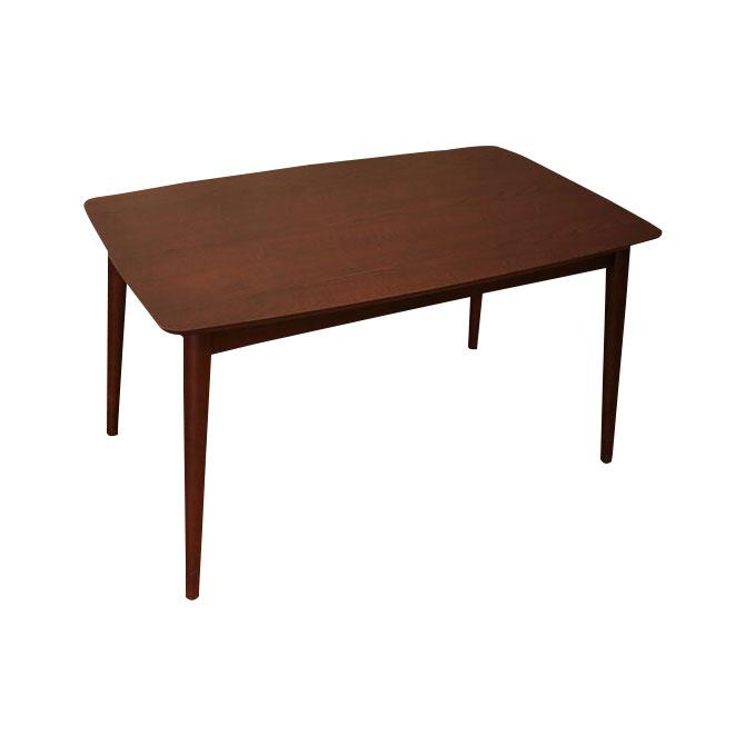 木製ダイニングテーブル サイズ:幅130×奥行き75×高さ64cm [送料無料]カントリー調の温かみのあるテイストのダイニングテーブル。 カラー:ブラウン・ナチュラル テーブル単品/食卓テーブル/食堂テーブル/北欧[byおすすめ]