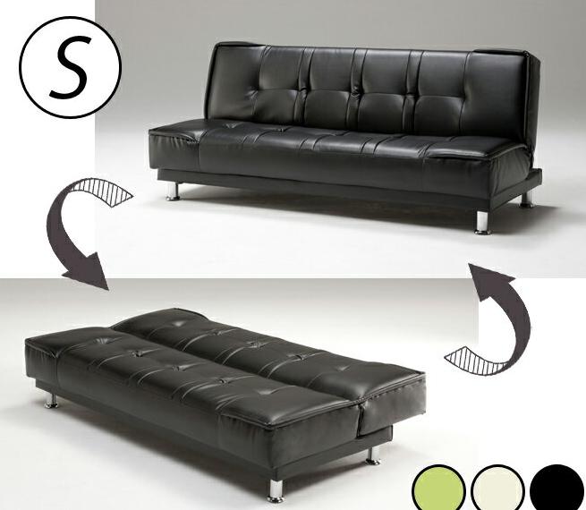 i-office1: Sofa-bed Capella Capella sofa bed faux leather three seat ...