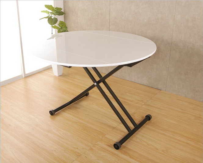 リフティングテーブル アイル 昇降テーブル 折りたたみ式天板 リビングテーブル センターテーブル バタフライテーブル 伸長式 リフトアップテーブル 高さ調整