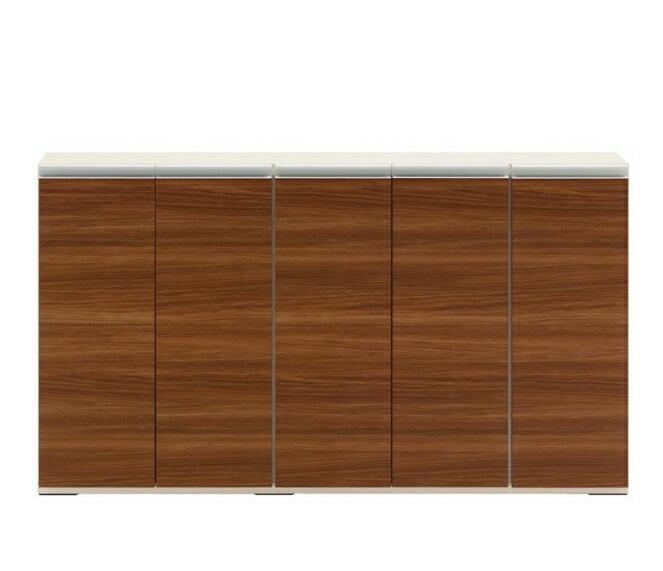 完成品 日本製 カウンター下収納 ジャストシリーズ キッチンストッカー ローキャビネットLBD-150 ブラウン キッチン収納 キッチンキャビネット キッチンボード キッチンラック キッチン収納棚 食器棚