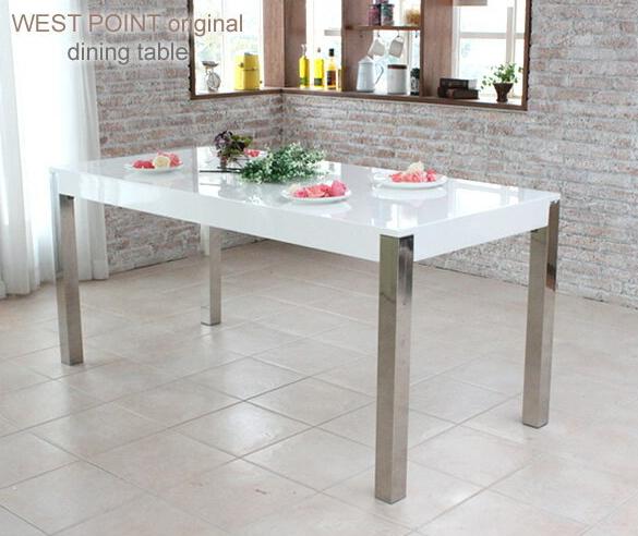 ダイニングテーブル ウォールナットとホワイト鏡面仕上げの2色 4人で使えるダイニングテーブル 送料無料