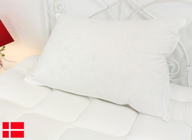 枕 洗える DYKON デュコン リングステッドロイヤルピロー 洗濯機で丸洗い可能 デンマーク製 ウォッシャブル 洗える枕 エコテックス規格100、Class1認定 ハウスダスト、ダニアレルギーに有効 まくら マクラ 枕 ピロー [送料無料]