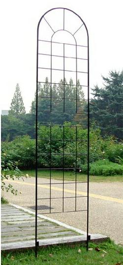 クラシックフェンス ハイタイプ 4枚組 (YBIF-220-4P)簡単設置 ガーデニング アイアンフェンス アイアン 柵 庭 園芸 エクステリア フェンス 花壇 シンプル