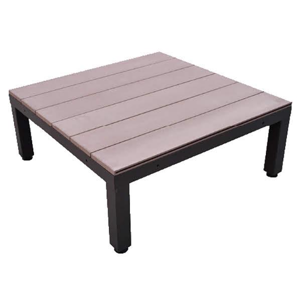 ウッドデッキ 人工木 人工木ユニットデッキ オープン ブラウン