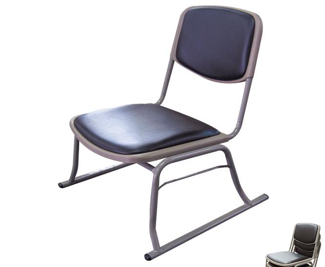 \8/8~ポイント10倍★3日間限定★/ スタッキングチェアー 4脚セット 和座敷チェアー 52×49×58cm 座椅子 積み重ね可能 座椅子 座いす チェア スタッキング シンプル 椅子 和室 省スペース 完成品