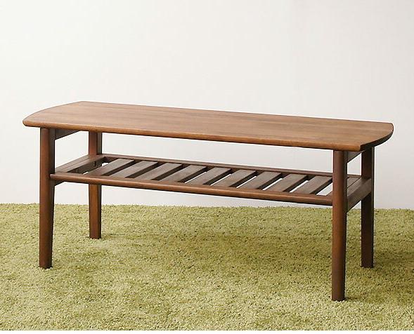 リビングテーブル 木製 天然木アルダー材 オイル塗装 ナチュラル ブラウン ローテーブル センターテーブル センター テーブル リビング テーブル