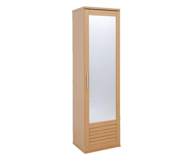 シューズボックス シューズラック ミラー付き 下部ルーバー仕様 スリムラック 玄関ラック 玄関収納 可動棚 鏡付き 姿見