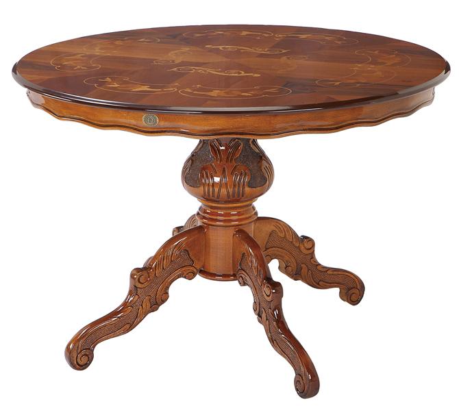 【送料無料】イタリア製 アンティーク クラシック家具 ATTICAシリーズ ラウンドテーブル110 ダイニングテーブル イタリア家具 高級ラウンドテーブル テーブル ダイニングテーブル コーヒーテーブル