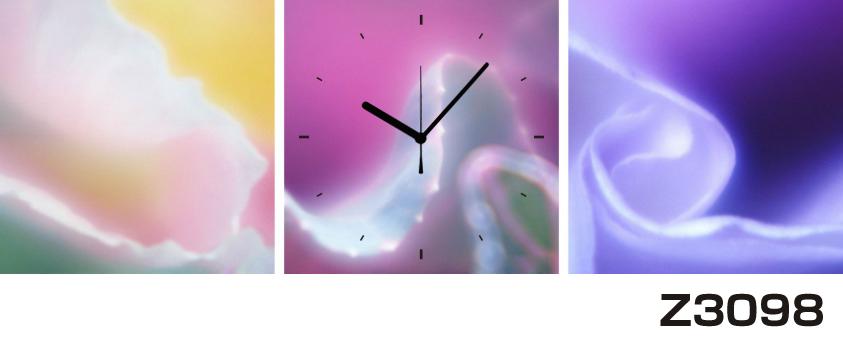 日本初!300種類以上のデザインから選ぶパネルクロック◆3枚のアートパネルの壁掛け時計◆hOur DesignZ3098【アート】【代引不可】 送料無料