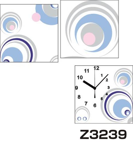 日本初!300種類以上のデザインから選ぶパネルクロック◆3枚のアートパネルの壁掛け時計◆hOur DesignZ3239円【アート】【代引不可】 送料無料