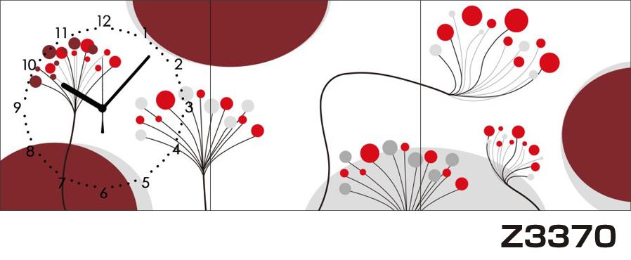 日本初!300種類以上のデザインから選ぶパネルクロック◆3枚のアートパネルの壁掛け時計◆hOur DesignZ3370【アート】【代引不可】 送料無料