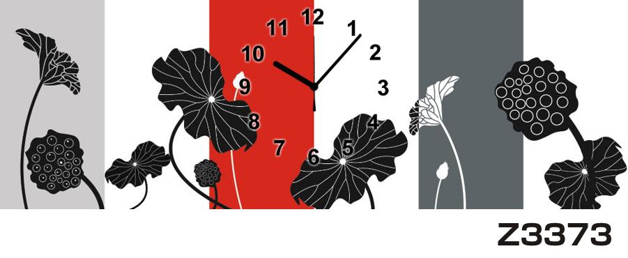 \クーポンで300円OFF★16日1:59まで★/ 日本初!300種類以上のデザインから選ぶパネルクロック◆3枚のアートパネルの壁掛け時計◆hOur DesignZ3373【アート】【花】【代引不可】 送料無料