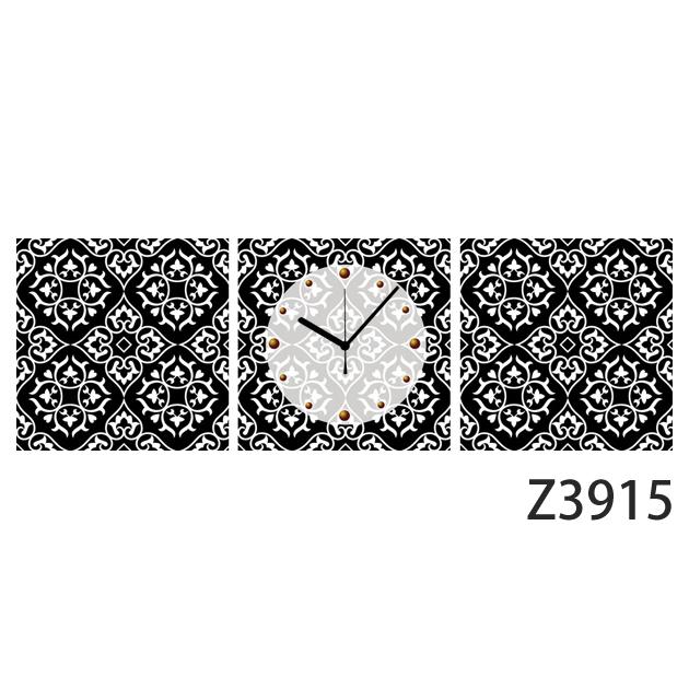 壁掛け時計 日本初!300種類以上のデザインから選ぶパネルクロック◆3枚のアートパネルの壁掛け時計◆hOur Design Z3915【イラスト】【アート】【代引不可】 送料無料